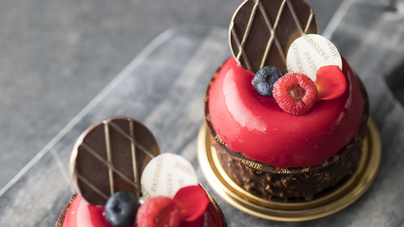 Soy Milk Chocolate and Raspberry Mousse